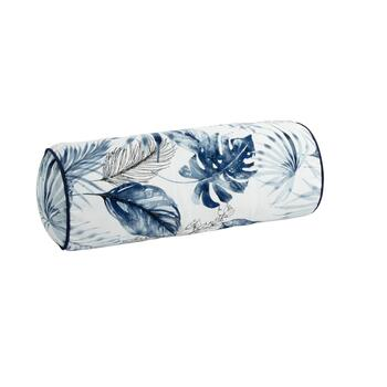 Coastal Living Seascapes™ Palm Leaves Indoor/Outdoor Lumbar Roll Pillow