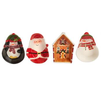 Christmas Icons Tidbit Bowls Set