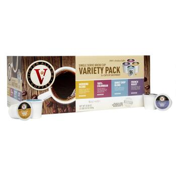Victor Allen's® Single Serve Classic Variety Pack Coffee Pods, 96-Count