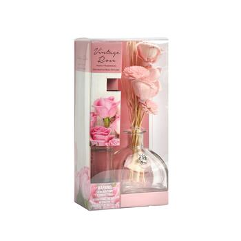 5.4-oz. Vintage Rose Scented Reed Diffuser