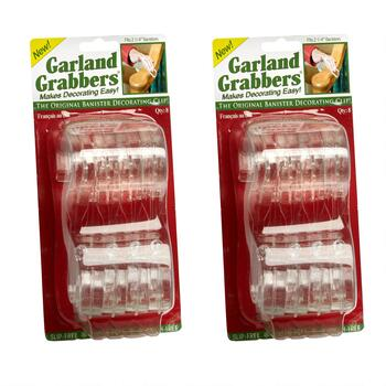 8-Pack Garland Grabbers®, Set of 2