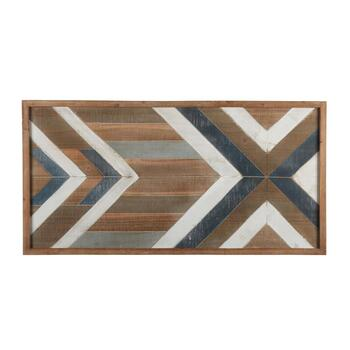 "23""x46"" Arrow Wood Panel Wall Decor"
