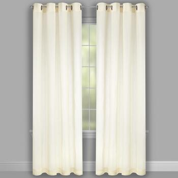 "84"" Marlow Grommet Window Curtains, Set of 2 view 2"