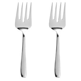 Cambridge® Stainless Steel Serving Fork, Set of 2