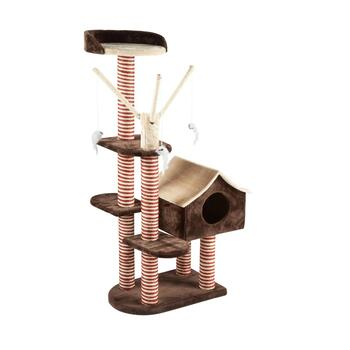 Cat Scratching Tower With Cubby House Christmas Tree Shops And That Home Decor Furniture Gifts Store
