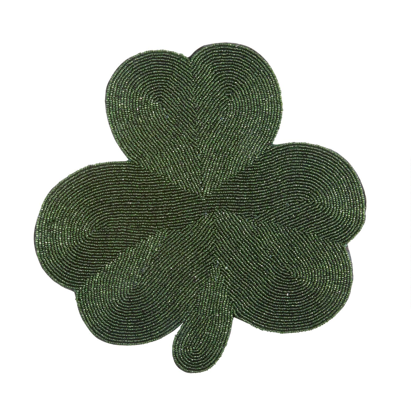 Patrick/'s Day Placemats 4 or 6 Irish Reversible Placemats Clover Placemats Shamrock Placemats Green St Patricks Day table decor Green St