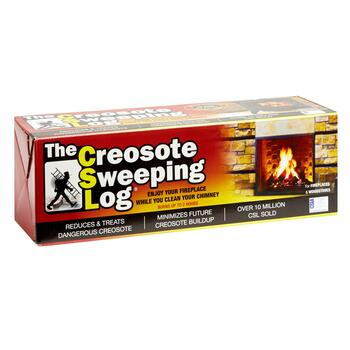 The Creosote Sweeping Log®