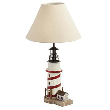 "22"" Coastal Lighthouse Table Lamp"