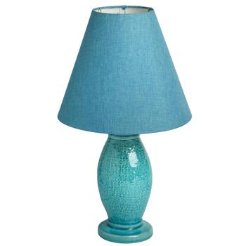 "18"" Dowel Ceramic Table Lamp"
