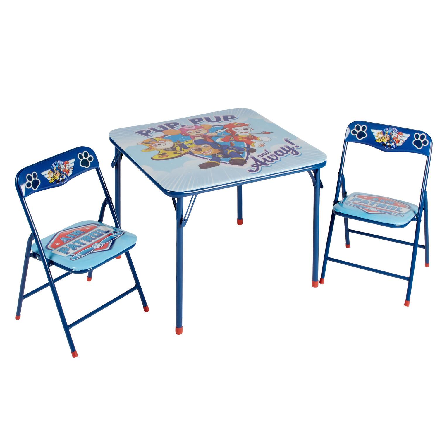 Paw Patrol Children S Folding Table And Chairs Set 3 Piece