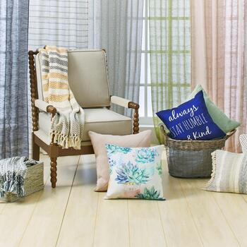 Ball Frame Chairs, Decorative Pillows & Throws