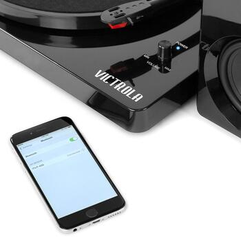 Victrola Bluetooth® Turntable and Speaker Set view 2