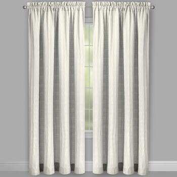 Heather Crash Window Curtains, Set of 2 view 2