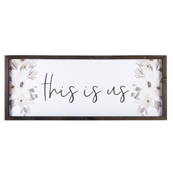 "20""x50"" ""This Is US"" Hanging Decor view 1"