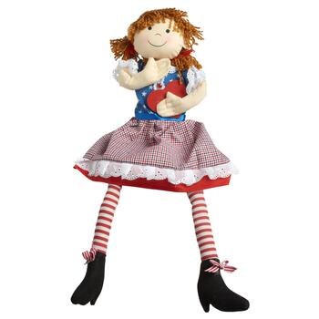 Miraculous Red White And Blue Sitting Girl With Dangling Legs Pdpeps Interior Chair Design Pdpepsorg