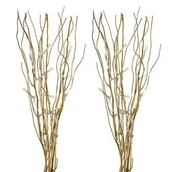 Willow Branches with LED Lights, Set of 2