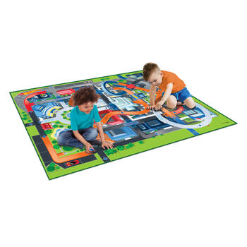 Hot Wheels® Mega Mat™ with Vehicles view 2