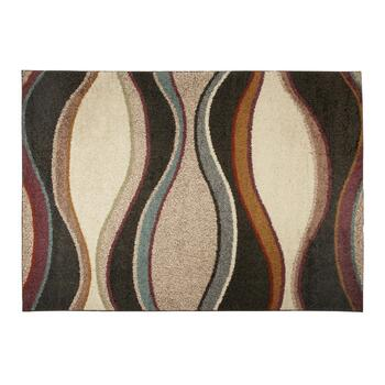 "6'7""x9'6"" Billowing Waves Area Rug"