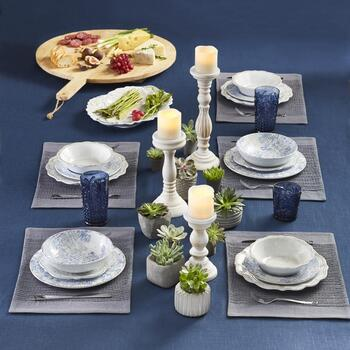 The Grainhouse™ Melamine Dinnerware Serveboards & Placemats