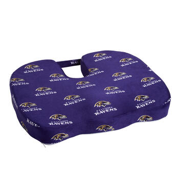 Baltimore Ravens NFL Memory Foam Chair Cushion view 1