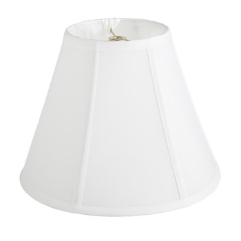 "10"" Silk-Style Trim Empire Lamp Shade"