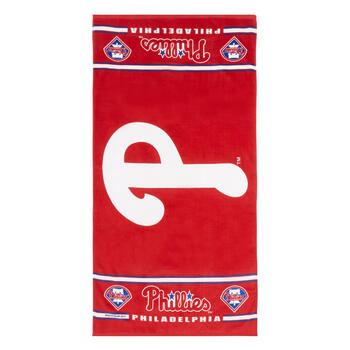 "30""x60"" MLB Philadelphia Phillies™ Cotton Beach Towel view 1"
