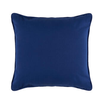 The Grainhouse™ Blue Geo Square Throw Pillow view 2