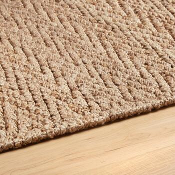 Chevron Woven Jute Accent Rug view 2