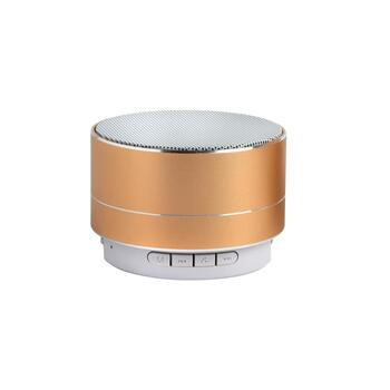 "2"" Mini Color-Changing Round Bluetooth® Speaker"