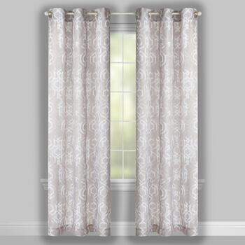 "84"" Crawford Malone Grommet Window Curtains, Set of 2 view 2"