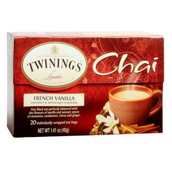 Twinings® French Vanilla Chai Black Tea, 6 Boxes