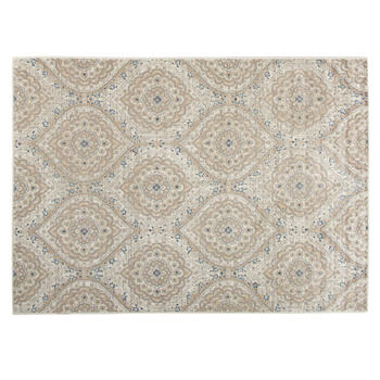 5'x7' Tayse Ivory Floral Ogee Area Rug view 1