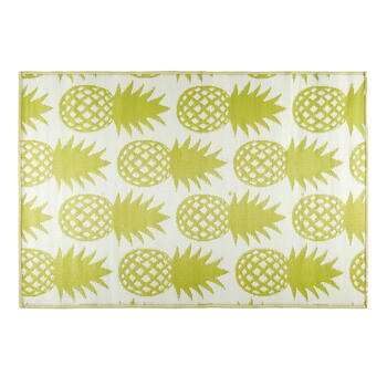 Patio Mat Pineapple 4x6 B view 2