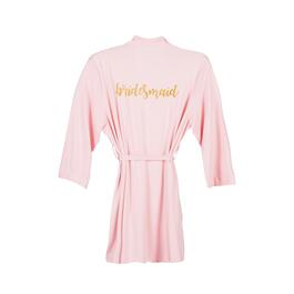 "Pink ""Bridesmaid"" Robe"