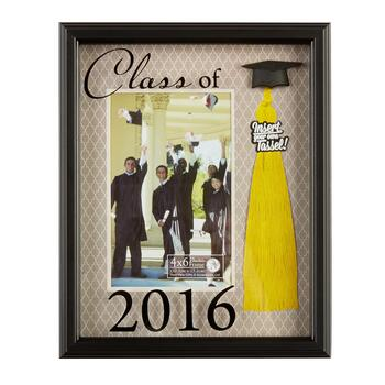 4x6 Class Of 2016 Mat Picture Frame With Tassel Insert