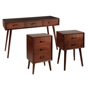 Dark Chocolate Accent Tables