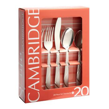 Cambridge® Boa Frost Flatware Set, 20-Piece view 2