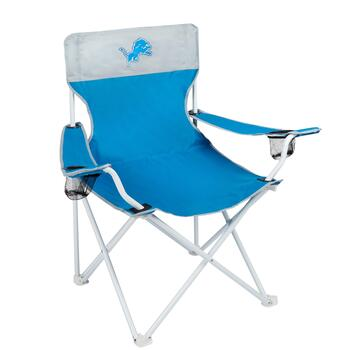 NFL Detroit Lions Folding Big Boy Chair