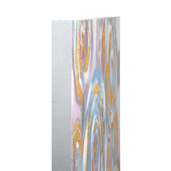 "24""x36"" Multicolor Gold Flowers Canvas Wall Art view 2"