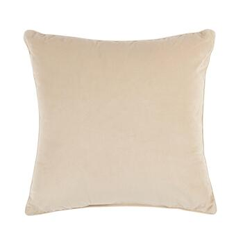Silver Sequin Embellished Square Throw Pillow view 2