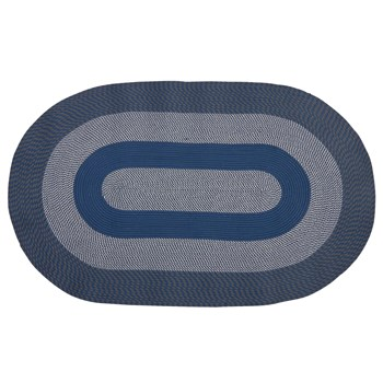 Indoor/Outdoor Braided All-Weather Oval Rug