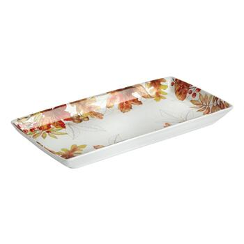 "6""x13"" Harvest Woodland Rectangular Serving Platter"
