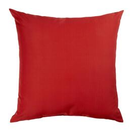 Solid Red Indoor/Outdoor Floor Cushion