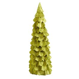 17 paper glitter tree - Already Decorated Christmas Trees