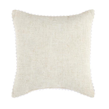 """Happy Easter"" Egg Square Throw Pillow view 2"