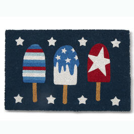 "Americana Popsicle 18"" x 28"" Coir Mat view 1"