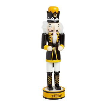 "14"" NHL Boston Bruins Collectible Wood Nutcracker"