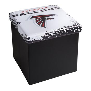 NFL Atlanta Falcons Storage Ottoman