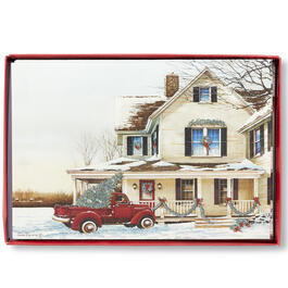 Country House Christmas Cards, 18-Count view 1