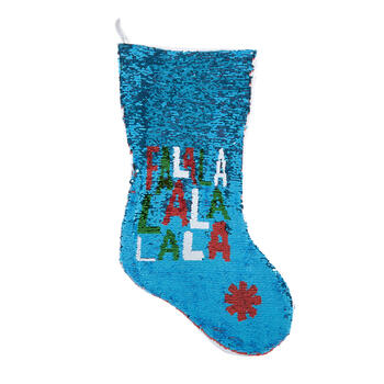 """Fa La La"" Color-Changing Sequined Stocking view 2"